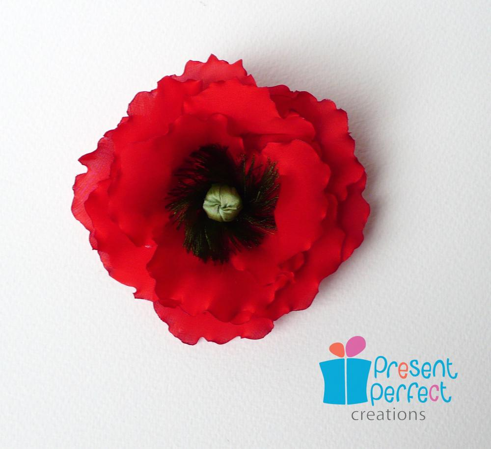 Red poppy corsage veteran poppy flower remembrance poppy on luulla red poppy corsage veteran poppy flower remembrance poppy mightylinksfo